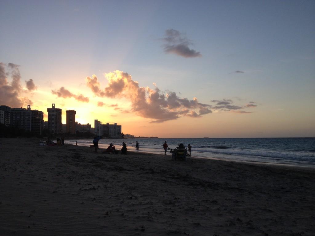 puerto rico san juan beach isla verde