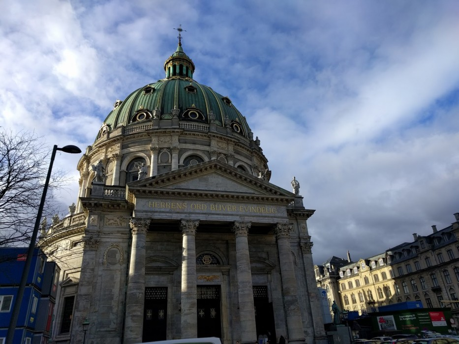 Marmorkirken, The Marble Dome Copenhagen | Ellen Says Hola | Travel Blog