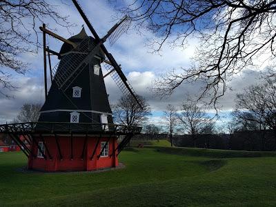 copenhagen kastellet windmill