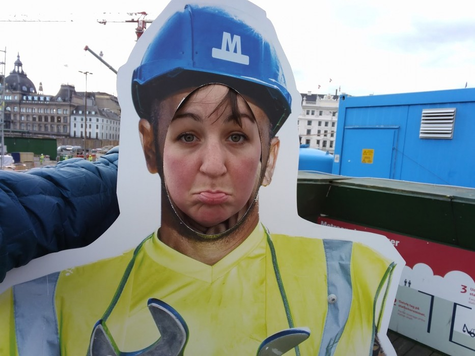 construction at king's new square copenhagen | Ellen Says Hola | Travel Blog