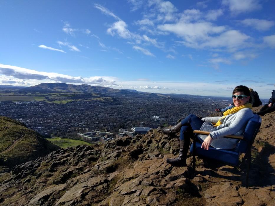Hike up Arthur's Seat | Ellen Says Hola | Travel Blog