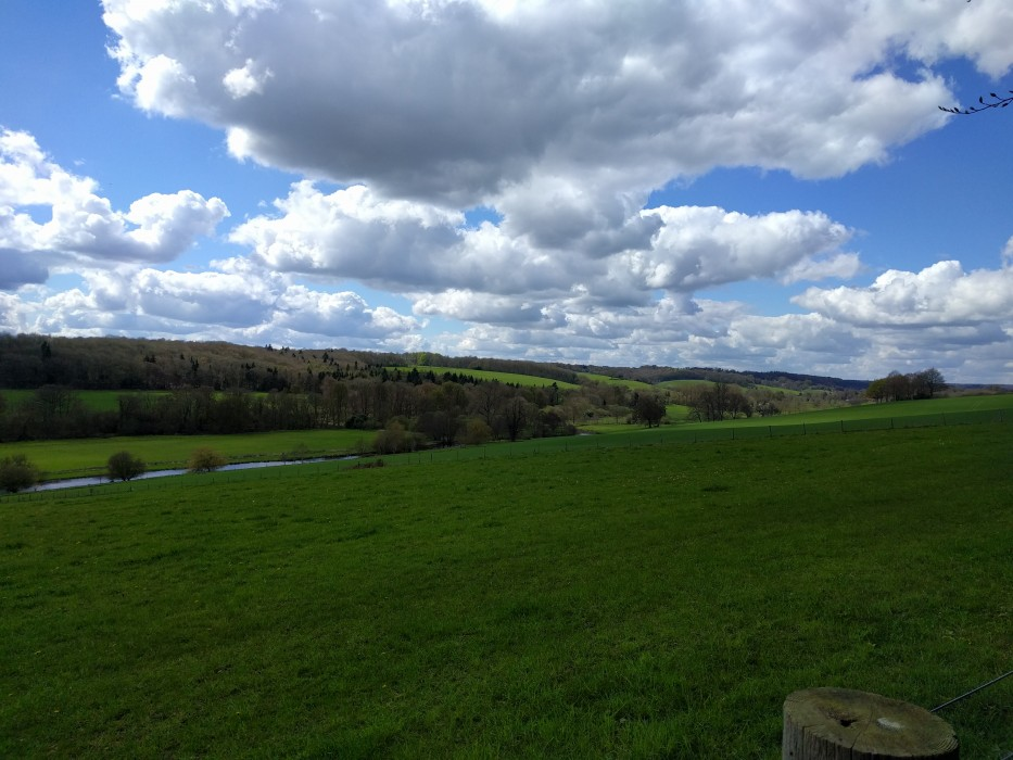 View from the Chess Valley Trail