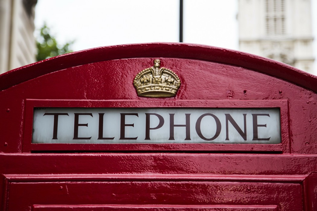 Iconic Red London Phone Booth