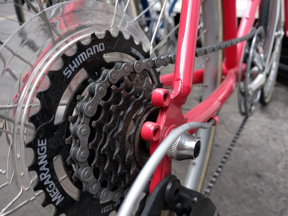 tokyobike gear closeup