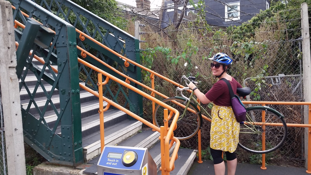 bikes on the london overground
