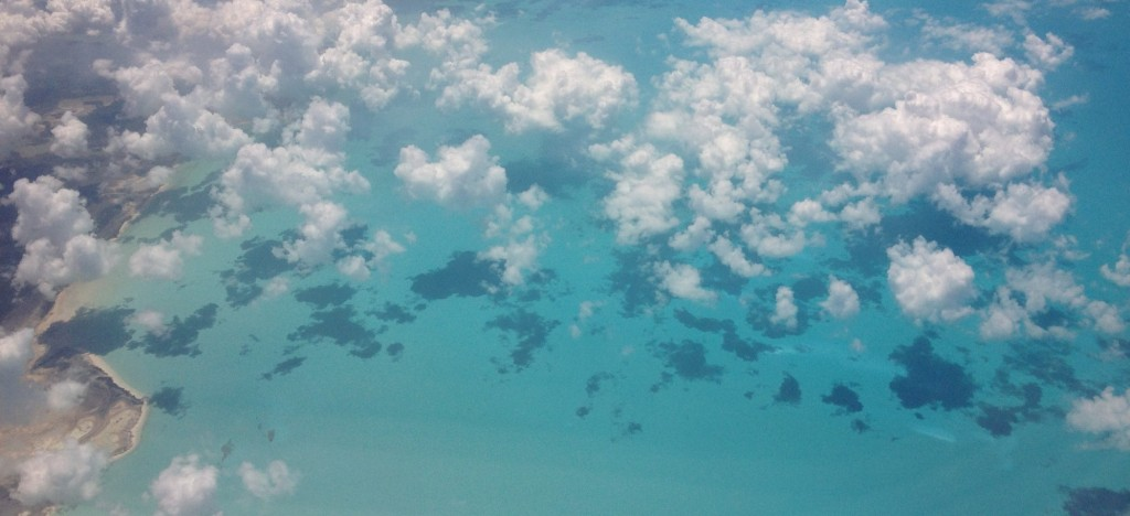 clouds over the caribbean