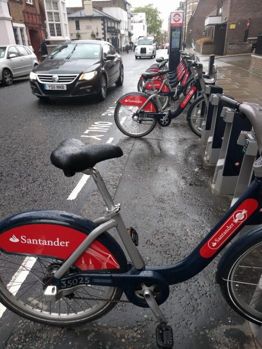 Santander Cycle Hire Dock