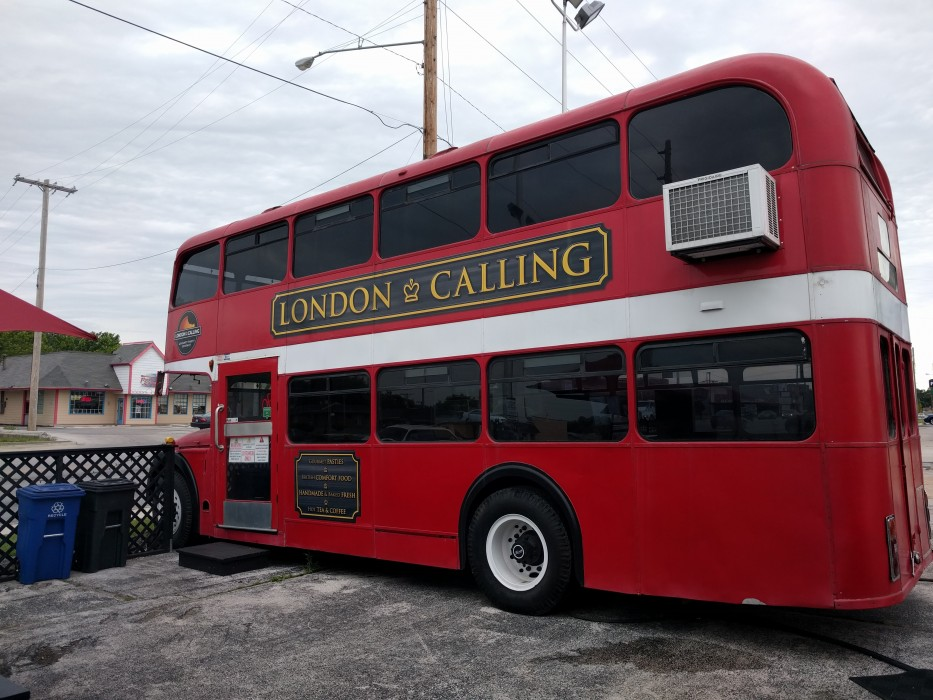 london calling red double decker bus springfield mo